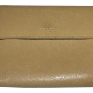 Prada Buttery Soft Tan Wallets